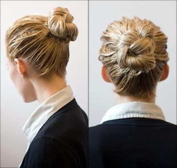 Gorgeous Bun Hairstyles For Office Women Hair Trends Bun Hairstyles Office Hairstyles