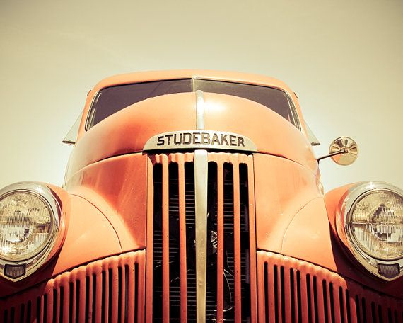 Old Truck Photography Studebaker Fine Art by PausePhotography