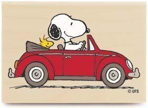 Snoopy & VW love