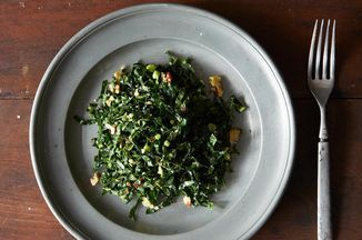 Lacinato Kale and Mint Salad with Spicy Peanut Dressing Recipe on Food52, a recipe on Food52