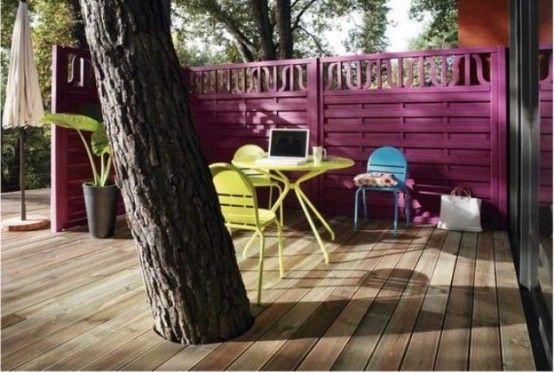 idee arredamento terrazzo design