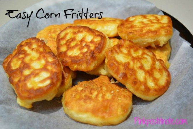 These Corn Fritters take just minutes to make, are delicious and you can hide the veggies in there for the kids!