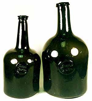 American Applied Glass Seal Bottles From Antique Bottle