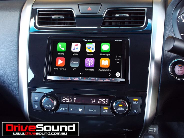 Nissan Altima with Apple CarPlay installed by DriveSound