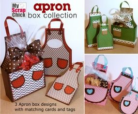 *NEW! Apron Box Collection from MyScrapChick.com http://www.myscrapchick.com/product.cfm?product=876