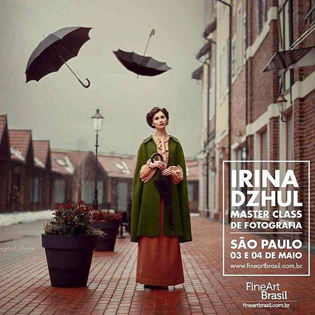 3-4 мая workshop в Сан-Паулу, Бразилия  @fineartbrasil ☺ 3-4th of May workshop in São Paulo, Brazil ❤️ @fineartbrasil  #photographer #irinadzhul #workshop #brazil #saopaulo