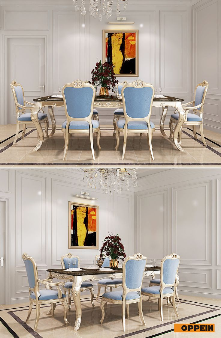 #eatingroom Neo Classical Style In Whole House Design | Whole House  Solution In Neo Classical Style | Pinterest | Full House, Living Room  Kitchen And ...
