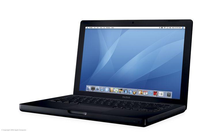 MacBook black, 2006.
