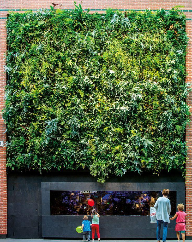 Greenworks' outdoor wall