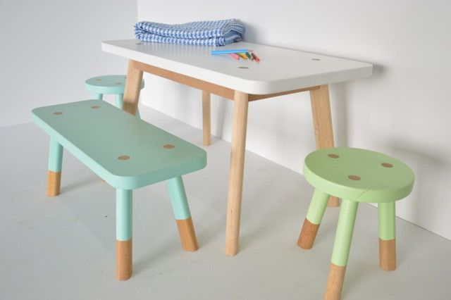 kids table and chairs. love it.