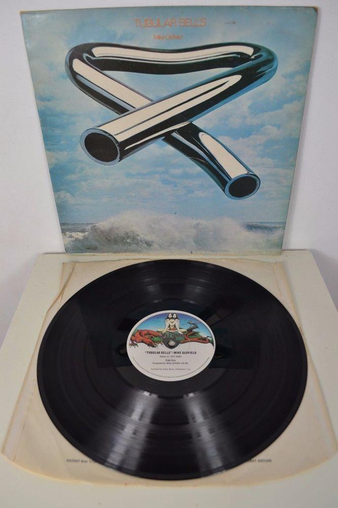 MIKE OLDFIELD TUBULAR BELLS ORIGINAL 1973 UK ISSUE VINYL LP ALBUM VIRGIN V2001