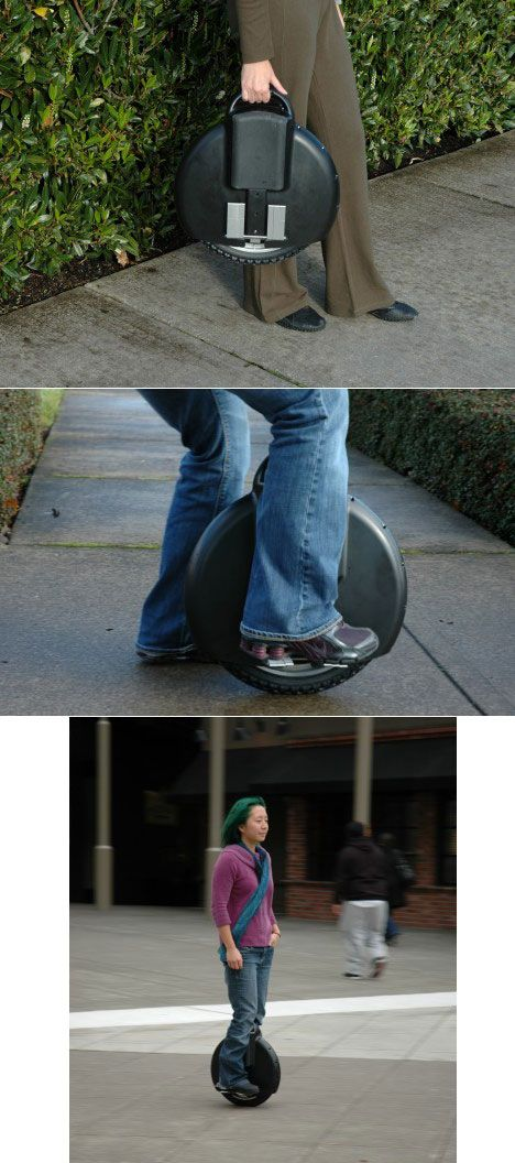 The Solowheel: The Most Minimal Electric Transportation Possible - Core77