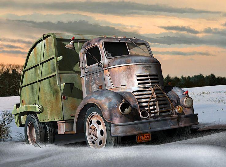GMC 1940 City of Elgin - USA
