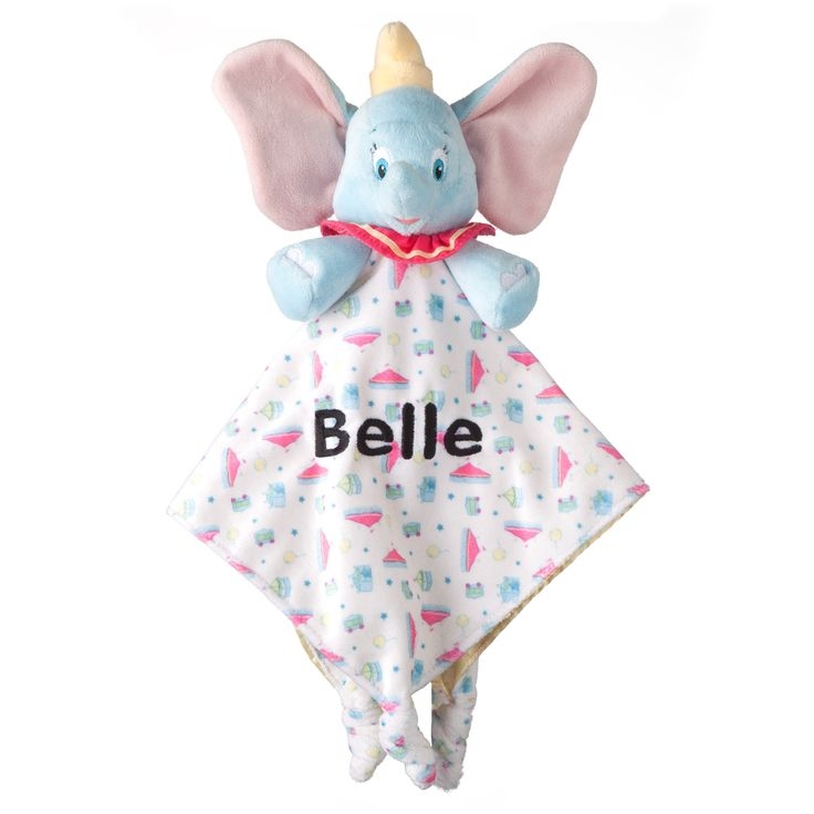 36 best toys baby toddler toys images on pinterest children our personalized dumbo baby blankey will be a favorite night time take a long and makes a keepsake baby gift or holiday gift idea for any new baby in your negle Images