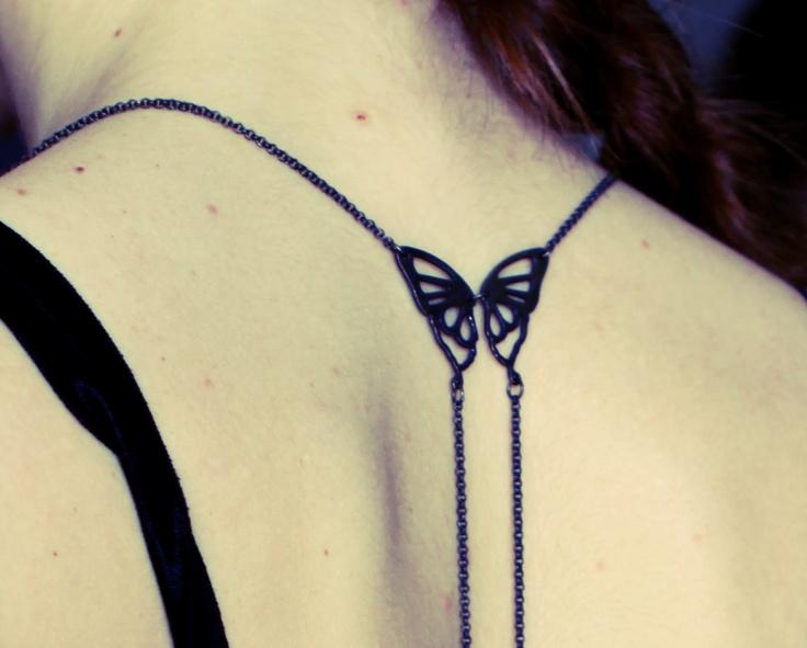 Maggoosh Design:  feelin butterflies bodychain