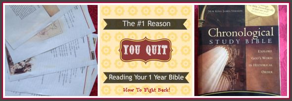 The #1 Reason You Stop Reading Your One-Year-Bible How To Fight Back! Mother Of Knights