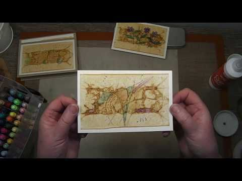 Tea Bag Cards - YouTube