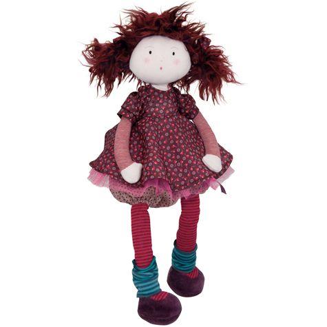 hadrová panenka Jeanne | Dětské hračky pro holky i kluky | ookidoo.com