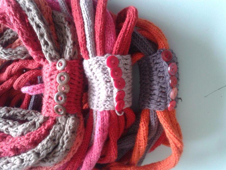 15m loop scarve, handmade by Sefakwana Thenjwayo- Craft U.B.A