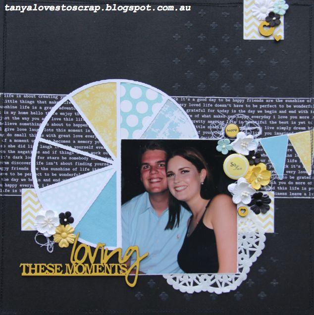 #scrapbooking #layout #craft #create #friends #papercraft tanyalovestoscrap.blogspot.com.au