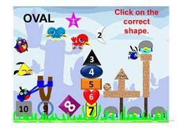 Shapes Angry Bird Game Animated