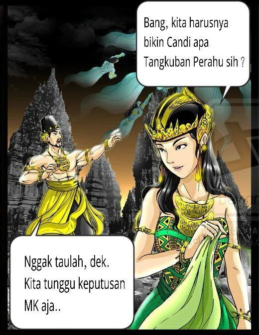 Roro Jonggrang vs. Tangkuban Perahu…