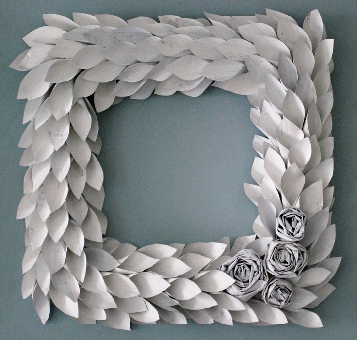 47 best Paper Wreaths images on Pinterest | Paper wreaths, Paper ...