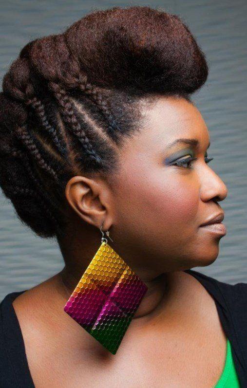 17 meilleures id es propos de coiffure courte afro sur pinterest coiffure twa. Black Bedroom Furniture Sets. Home Design Ideas