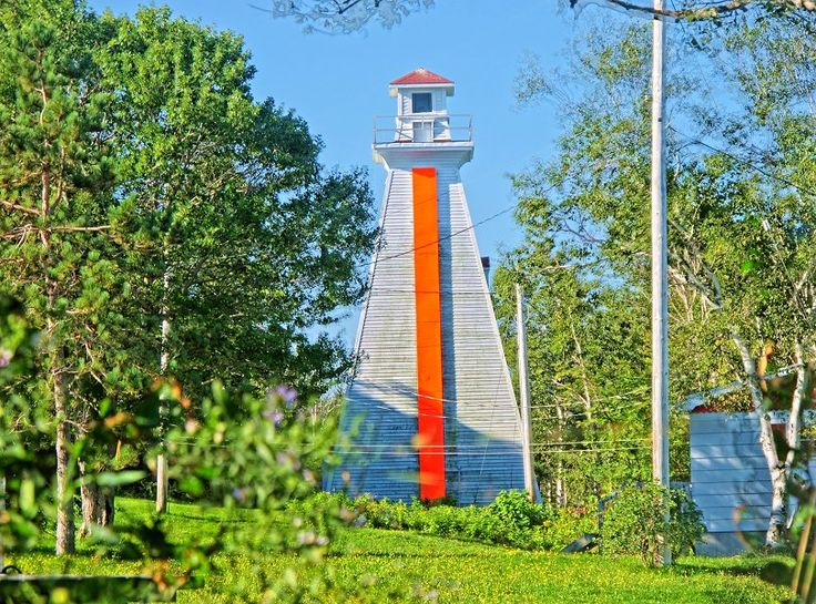 Great Bras dOr Lighthouse, Cape Breton, Nova Scotia