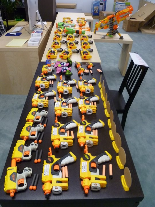 Nerf War Games Party