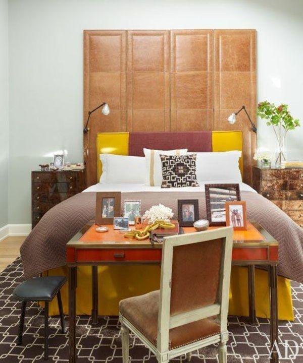 Kopfteile für betten – coole, eigenartige designs   schlafzimmer ...