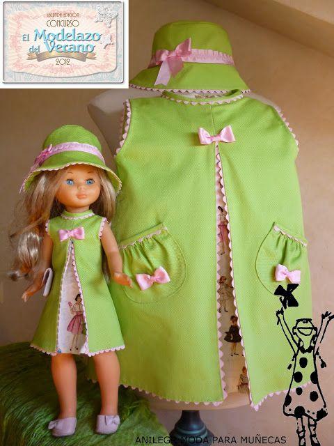 Anilegra moda para muñecas: TRAE TELA!!!! EL MODELAZO DEL VERANO