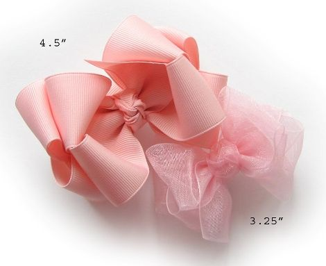How To Make 2-Layer Boutique Hairbow/Hair Bow Instruction-Part 2 : Hip Girl Boutique LLC, Free Hairbow Instructions, Ribbons, Hair Bows and Clips, Hairbow Hardware and More