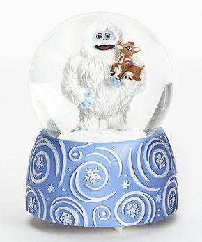 Rudolph Bumble Snow Globe