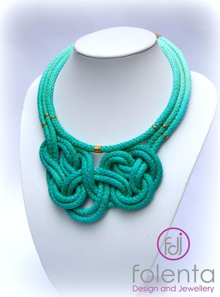 Folenta Design Jewellery rope necklace ,knot