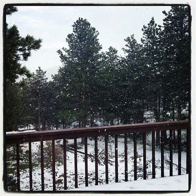 My Brother's house in Colorado May 2014