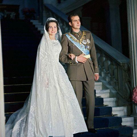 Crown Prince Juan Carlos of Spain and princess Sofia of Greece