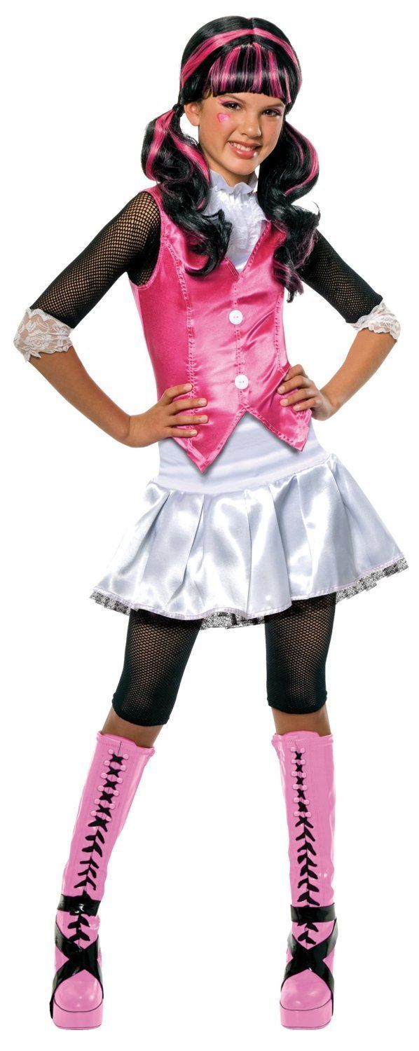 Monsters high, draculaura fancy dress, #costume #dressing up #rubie's official bn,  View more on the LINK: http://www.zeppy.io/product/gb/2/282250222599/