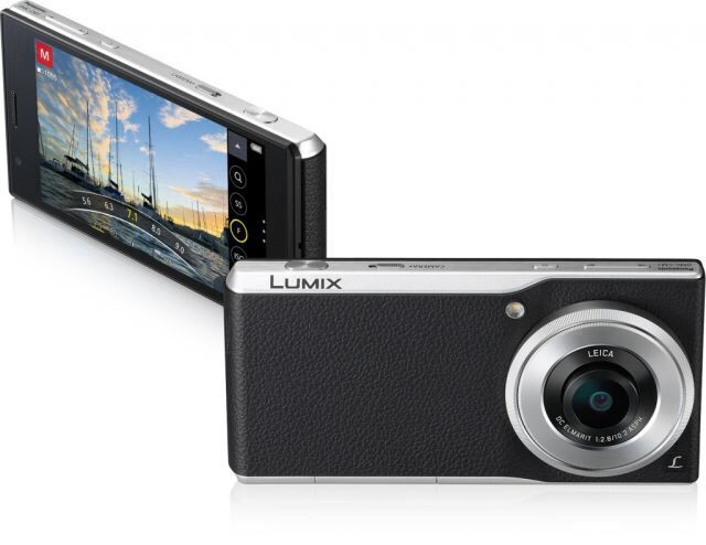 New Panasonic smartphone with leica lens! Want.
