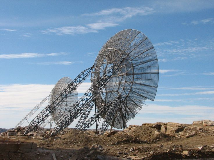abandoned Distant Early Warning Line (Nunavut, Canada)