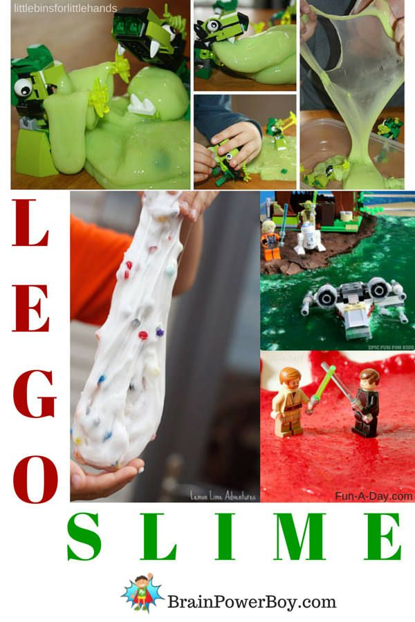 LEGO + Slime = Awesome. What else is there to say :)