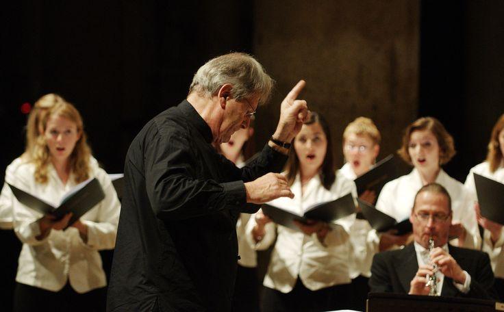 Il ritorno d'Ulisse in patria   Sir John Eliot Gardiner conducts the Monteverdi Choir and English Baroque soloists in Monteverdi 450 at this year's Edinburgh International Festival. Image © Massimo Giannelli for Anima Mundi Festival