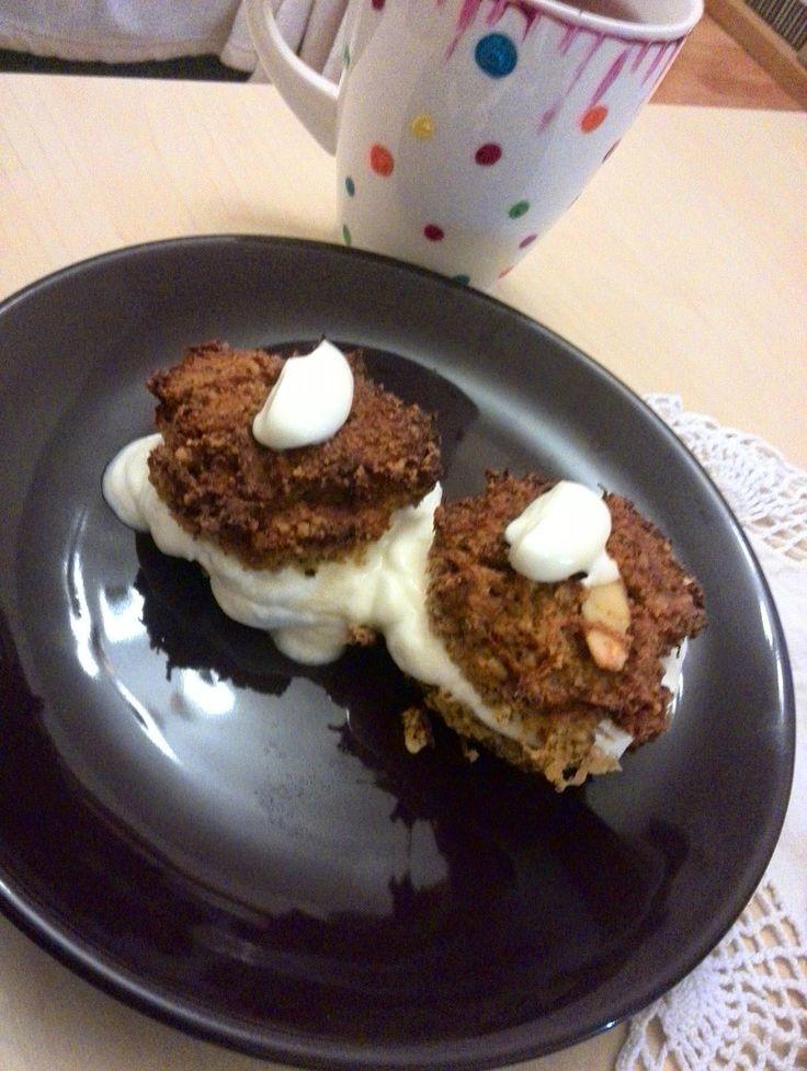 Recept na mrkvové muffiny bez mouky a cukru :)