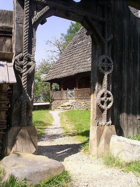 Poarta - The Ethnographic Museum of Maramures, Sighetul Marmatiei, Maramures, Romania