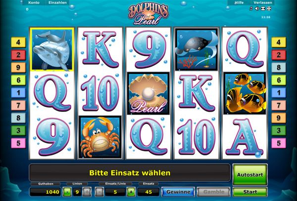 Dolphin Pearl Casino Game