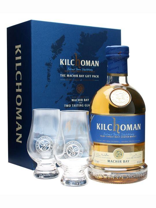 Kilchoman Machir Bay Gift Pack / 2 Tasting Glasses