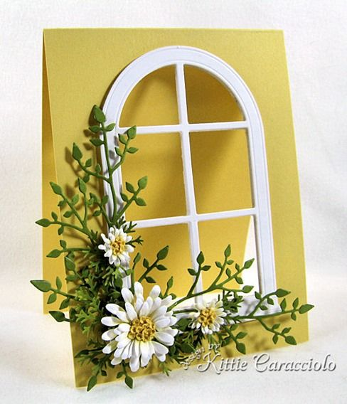 window card by Kittie Caracciolo