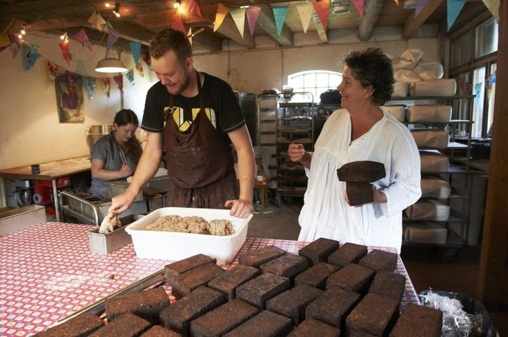 baking course  at Fugebjerggard with Camilla Plum and jakob