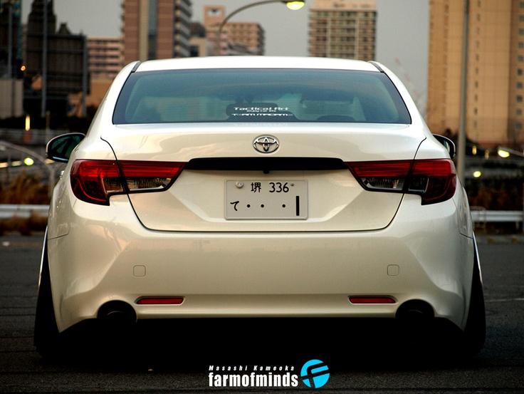 Masashi Kameokas Toyota Mark X (via @Farmofminds Farmofminds )