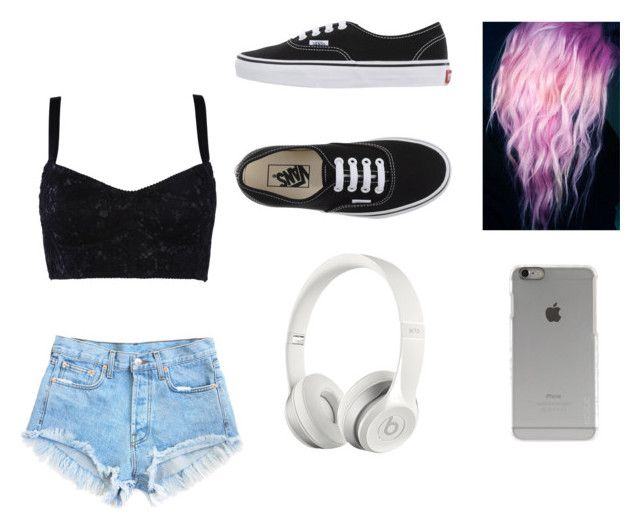 """""""Untitled #4"""" by xoxocloe ❤ liked on Polyvore featuring Dolce&Gabbana, Vans, Incase and Beats by Dr. Dre"""